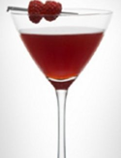 Bilde av LEVEL Martini with raspberry.