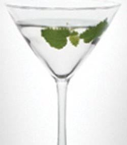 LEVEL Coriander Martini oppskrift.