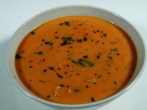 Prøv også Tomatsuppe av friske tomater.