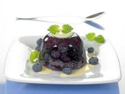 Gele med blåbær oppskrift.