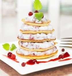Prøv også Sveler med mascarpone og tyttebær.