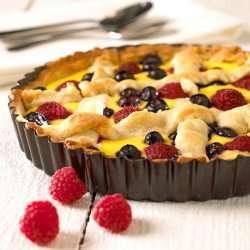 Prøv også Pai med bringebær og blåbær.