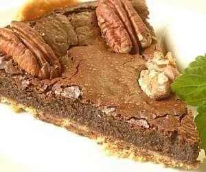 Prøv også Sjokoladepai med nøtter.