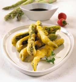 Prøv også Asparges tempura.