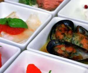 Prøv også Tapas med sjømat.