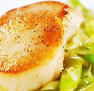 Prøv også Kamskjell med sitron og ingefær.