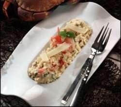 Prøv også Risotto med krabbe.
