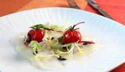 Prøv også Gravet Norsk Kveitecarpaccio med lune tomater og små salater.