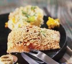 Prøv også Grillet laksefilet med honning og sesamfrø.
