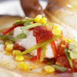 Meksikansk fiskepakke oppskrift.