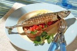 Prøv også Sitrongrillet pir på toast.