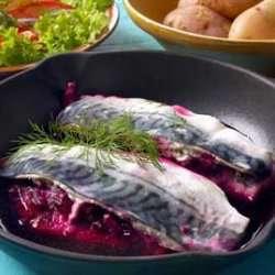Prøv også Rødmende makrell.