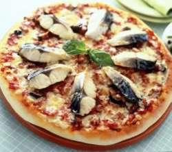 Makrell Pizza oppskrift.
