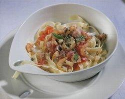 Prøv også Reker med tagliatelle og tomatsaus.