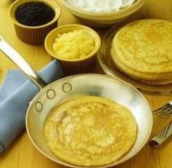 Les mer om Blinier Russiske pannekaker hos oss.