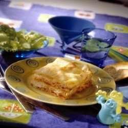 Lasagna la maritim - Lasagne med torsk oppskrift.