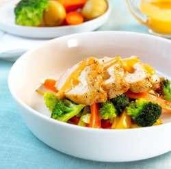 Prøv også Urteost i kyllingbryst med paprika.