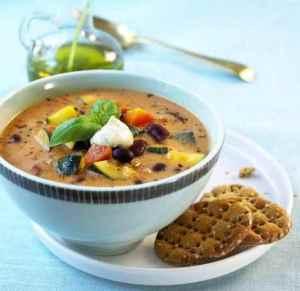 Prøv også Middelhavssuppe med yoghurt.