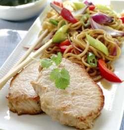 Asiatisk filet oppskrift.