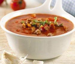 Prøv også Tomatsuppe med kjøttdeig.