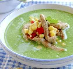 Prøv også Grønn suppe med svinekjøtt.