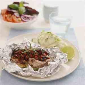 Les mer om Skinkebiff bakt i aluminiumsfolie hos oss.