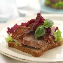 Prøv også Postei- og baconsmørbrød.