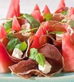 Prøv også Spekeskinke med vannmelon og mynte.