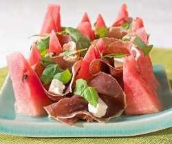 Prøv også Spekeskinke med vannmelon.