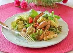 Kylling- og pastasalat 3 oppskrift.