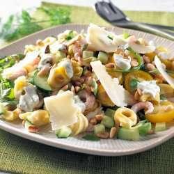 Prøv også Salat med tortellini og reker.