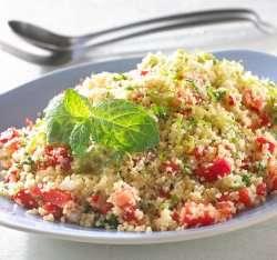 Prøv også Couscous salat med limesirup.