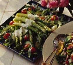 Aspargessalat 4 oppskrift.