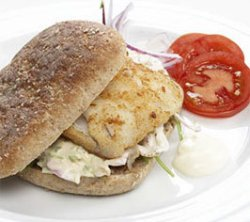 Prøv også Fiskeburgere med coleslaw.