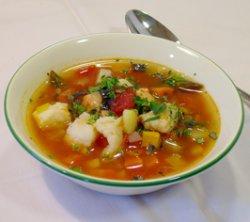 Prøv også Fiskesuppe med urter og tomater.