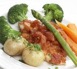 Prøv også Stekt torskefilet med tomatsaus.