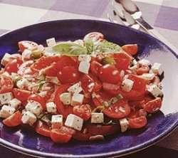 Prøv også Tomatsalat med dressing.
