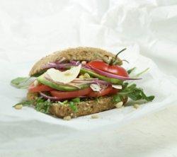 Prøv også Vegetarsandwich.
