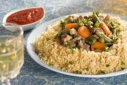 Prøv også Couscous med lam fra Algerie.