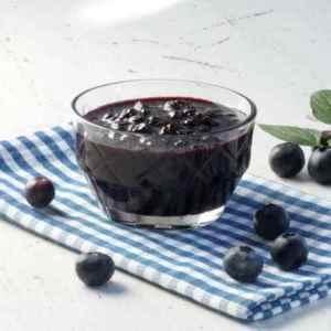 Rørt blåbærsyltetøy oppskrift