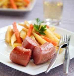 Prøv også Vossakorv med rotgrønnsaker.