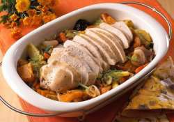 Prøv også Helstekt kalkunfilet på rotgrønnsaker.