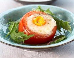 Prøv også Bakt egg i tomat med trøffel.