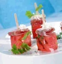 Prøv også Birkebeinerskinke med melon og parmesan.