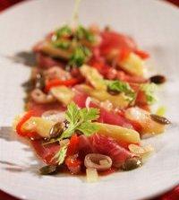 Prøv også Birkebeinerskinke med syltede grønnsaker.