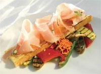 Prøv også Bruschetta med Birkebeinerskinke og grillede grønnsaker.