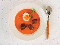 Prøv også Kjøttboller med tomatsuppe.