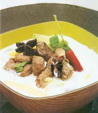 Prøv også Kokossuppe med storfekjøtt og koriander.