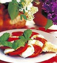 Prøv også Mozarella og tomatsalat.