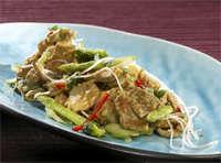 Prøv også Thai wok med chili, peanøtter og fersk ingefær.